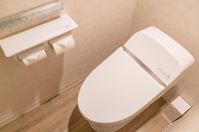 キレイが保たれるトイレ空間