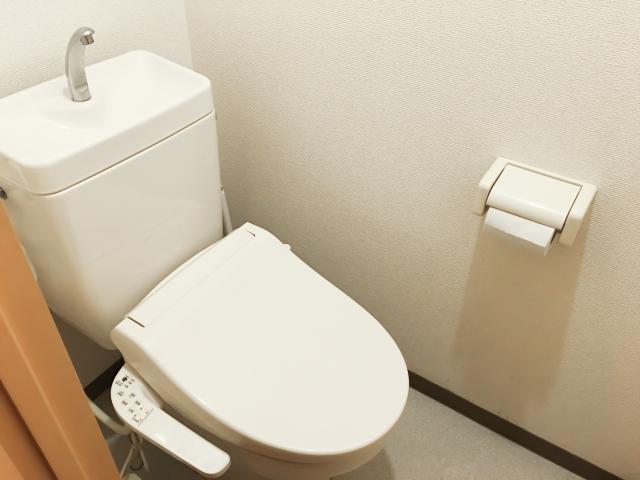 掃除の負担を軽減してくれるトイレです。